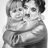 Charlot and the kid